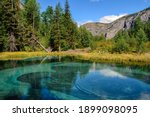 Beautiful Turquoise Geyser...