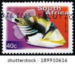 south africa   circa 2000  a... | Shutterstock . vector #189910616