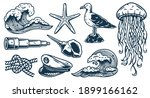 Set Of Nautical Elements For...