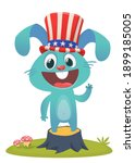 happy fourth of july.... | Shutterstock .eps vector #1899185005