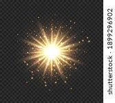 star burst with sparkles....   Shutterstock .eps vector #1899296902