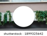 signboard mockup and template... | Shutterstock . vector #1899325642