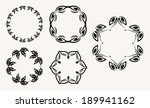 decorative vintage frame | Shutterstock .eps vector #189941162