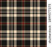 tartan plaid pattern in black ...   Shutterstock .eps vector #1899577375