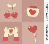 valentine's day   set of vector ...   Shutterstock .eps vector #1899582382
