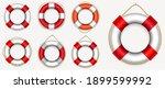 set of various lifebuoy...   Shutterstock .eps vector #1899599992