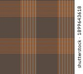 orange glen plaid textured... | Shutterstock .eps vector #1899643618