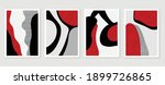 abstract wall arts vector.... | Shutterstock .eps vector #1899726865
