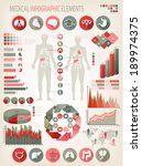 medical infographics elements.... | Shutterstock .eps vector #189974375
