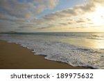 Sunset At Praia De Salines...