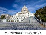 Stock photo washington dc us capitol building 189978425