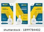 set of minimalist social media... | Shutterstock .eps vector #1899784402