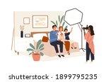 family portrait photography... | Shutterstock .eps vector #1899795235