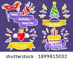 party label vector logo for... | Shutterstock .eps vector #1899815032