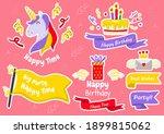 party label vector logo for... | Shutterstock .eps vector #1899815062