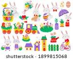 easter vector illustration for... | Shutterstock .eps vector #1899815068