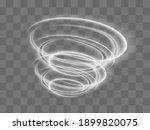 a glowing tornado. rotating... | Shutterstock .eps vector #1899820075