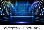abstract futuristic blue... | Shutterstock .eps vector #1899835042