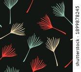 modern tropical vector seamless ... | Shutterstock .eps vector #1899878245