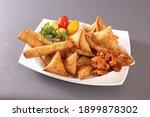 Pakora Samosa Chicken Roll Fast ...