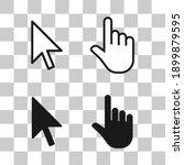 cursor vector icon set. mouse...