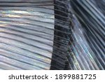 fashionable pleated fabric...   Shutterstock . vector #1899881725