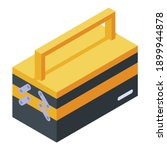 tool box icon. isometric of... | Shutterstock .eps vector #1899944878