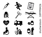 medical icons | Shutterstock .eps vector #189998426
