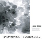 abstract black ink wash... | Shutterstock .eps vector #1900056112