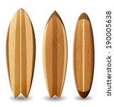 illustration of surfboards with ... | Shutterstock .eps vector #190005638