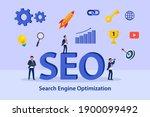 search engine optimization seo...   Shutterstock .eps vector #1900099492