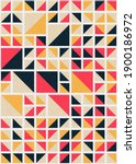 abstract geometric pattern... | Shutterstock .eps vector #1900186972