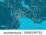 Detailed Map Of Baku City...