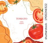 Stylized Tomatoes On An...