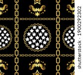 traditional baroque seamless... | Shutterstock .eps vector #1900292302