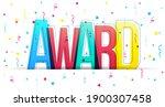 creative overlapped letters of... | Shutterstock .eps vector #1900307458