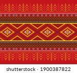 ulos or batak art knit fabrics...
