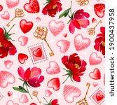Romantic Vintage Pattern. ...
