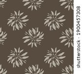 autumn dark tones seamless...   Shutterstock .eps vector #1900457308