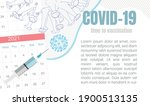 vaccination   medical concept... | Shutterstock .eps vector #1900513135
