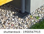 Plastic Downspout  Grill And...
