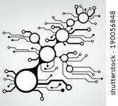 bstract circuit board techno... | Shutterstock .eps vector #190056848