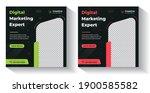 digital marketing social media... | Shutterstock .eps vector #1900585582