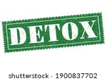 detox sign or stamp on white... | Shutterstock .eps vector #1900837702