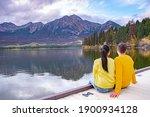 Pyramid Lake  Jasper National...