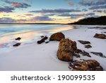 The Sunrise At Hyams Beach Was...