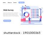 online survey vector...