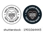 100   hand made vector icon in... | Shutterstock .eps vector #1901064445