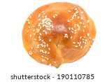 bun on a white background | Shutterstock . vector #190110785