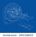 mri  magnetic resonance imaging ... | Shutterstock .eps vector #1901108425